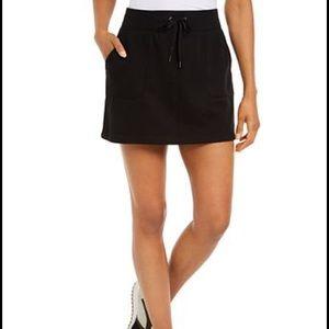 [ideology] Women's black athletic leisure skirt